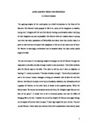 Literary Analysis Essay Pride And Prejudice
