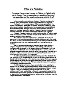 pride and prejudice essay gcse english marked by teachers com page 1 zoom in