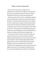 Gulliver's Travels essay help?