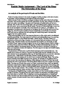 a literary analysis of the lord of the rings by tolkien The lord of the rings is of course a fundamentally religious and catholic work unconsciously so at first, but consciously in the revision — jrr tolkien to robert murray, sj [1] as for any inner meaning or 'message,' it has in the intention of the author none it is neither allegorical.