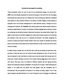 the handmaid tale essay gcse english marked by teachers com page 1 zoom in