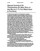 an analysis of the theme isolation in the novel frankenstein by mary shelley