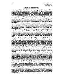 American Dream Essay Thesis Destiny And Frankenstein Essay Essays Written By High School Students also Essay Tips For High School Destiny And Frankenstein Essay Term Paper Example  January   Teaching Essay Writing High School