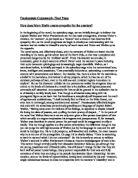 blame and sympathy essay
