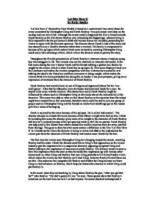 derek bentley essay You have not saved any essays the film was made to make people feel sorry for derek bentley by making us think he's the victim i felt sorry for him because he didn.