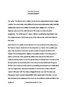 the kite runner essay questions kite runner questions research papers 1598 words