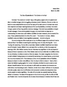 The Catcher in the Rye Essay - The Catcher in the Rye