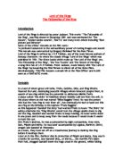 essay on  quot holes quot  by luis sachar   gcse english   marked by    english essay   lord of the rings