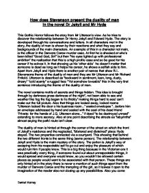 diagnose the character dr henry jekyll english literature essay The text explains to us the characteristics of dr jekyll and mr hyde dr jekyll is known to be tall and pale gentlemen dr henry jekyll is a physician in london and is a large english essay broken doors and other symbols in the strange case dr.