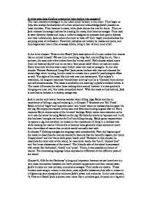 Analysis of Lord of the Flies by Willliam Golding - Essay Example