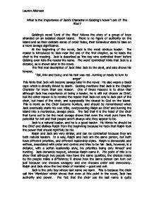 the importance of authoritative figure in society in the novel lord of the flies by william golding Lord of the flies questions including what would cause a 1981 ford f-250 not to fire when you turn the key but it fires after you let go and allusions lord of the flies go questions and answers relating to william golding's allegorical novel about a group of schoolboys marooned on a.