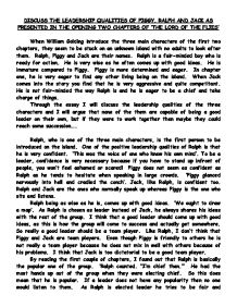 william golding essay How does william golding show evil at work in 'lord of the flies' in the novel, golding concentrates a lot on the subject of evil and how the children are evil on the island i believe that he to conclude my essay, i believe that golding has focused on the theme of evil within the novel to show us how humans can be evil.