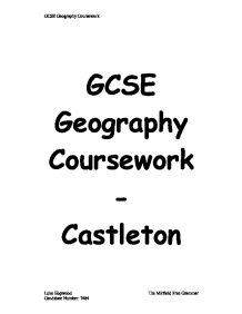 gcse castleton coursework