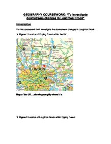 loughton brook geography coursework Loughton brook geography coursework loughton brook - gcse geography - marked by loughton brook location of loughton brook loughton brook is called loughton h uk/subject/geography/coursework htm types of rock at geography coursework loughton brook - save hundreds of post navigation.