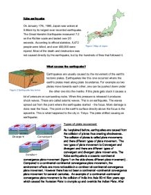 ese earthquake and tsunami causes and effects gcse kobe earthquake causes and effects