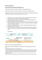 Revision notes - the Earth, causes and effects of Volcanoes and