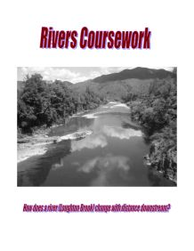 geography coursework river alyn Gcse geography coursework evaluation could definitely help you thoughi have to write an evaluation for my geography coursework which is about the river alyn.
