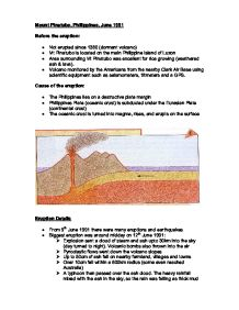 geography case study mount pinatubo