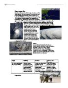 cause and effect essay hurricane katrina