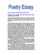 essay on upbringing