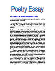 Poetry Essay   Gcse Health And Social Care  Marked By Teacherscom  Health And Social Care  Child Development Page  Zoom In