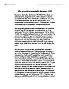 Gcse history evacuation coursework
