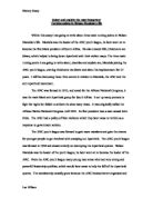 Examples Of Essay Papers Within This Essay I Am Going To Write About Three Main Turning  High School Experience Essay also Essay Sample For High School The End Of Apartheid  Gcse History  Marked By Teacherscom English Essay Topics For College Students