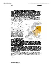 napoleons downfall essay Napoleon bonaparte napoleon bonaparte was a military and political leader of france who made significant mistakes leading him to his downfall napoleon was a man obsessed with power and wealth.