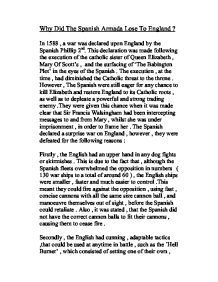 why the spanish armada lost gcse history marked by teachers com page 1 zoom in