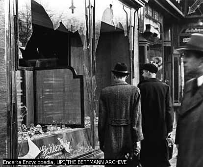 What three topics/subjects I should use to write an essay about Kristallnacht?