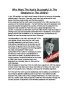 the success of the nazi party essay