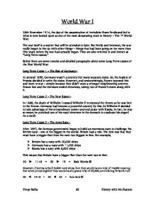 Good Essay Topics For High School Ib History Wwi Outlines Oxbridge Notes United States My English Essay also Science And Technology Essay Topics How To Buy Cartoons For Powerpoint Legal And Business  Donna Wwi  Pollution Essay In English