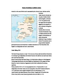 northern ireland conflict social studies essay Social studies essay on northern ireland woah i8217m really loving the templatetheme of this blog essays organic architecture non plagiarized termpapers.