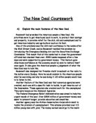 the features of the new deal essay