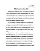 john f kennedy inaugural speech rhetorical analysis
