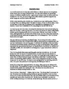 Decriptive hiroshima essay