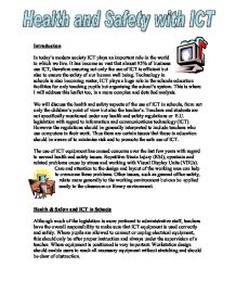 Environmental health and safety essays