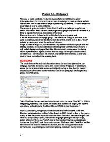 Gcse ict coursework help database