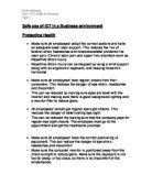 ict spreadsheet coursework