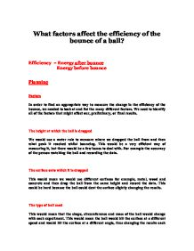 factors affecting the efficiency of claygo