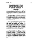 psycho essay gcse media studies marked by teachers com psycho there are many other techniques in which you can manipulate suspense and terror