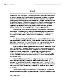 shrek essay music Browse thousands of essays from our giant database of academic papers find assignments like how is the character of shrek in.