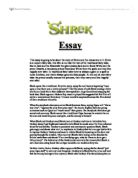 scream and halloween essay gcse media studies marked by  shrek essay