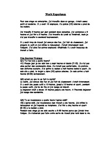 french ma maison essay Learn useful vocabulary and phrases to describe a typical day in french revise video test 1 2 3 page 3 of 3 top tips on expanding your writing ideas aim to use as many synonyms as possible and range of structures to make your writing more interesting je fais/ma petite s ur fait.