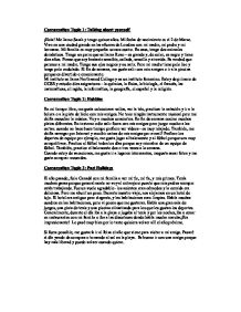 Spanish Writing Rubric Download