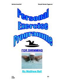 gcse pep coursework Gcse pe - pep  i am doing my personal exercise programme to hopefully  increase the level of my  analysis of performance gcse pe coursework.