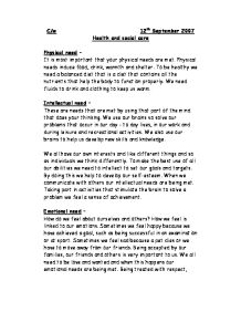 From Thesis To Essay Writing Page   Example Of Thesis Statement For Essay also High School Sample Essay Health And Social Care  Physical Intellectual And Emotional Need  How To Make A Thesis Statement For An Essay