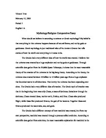 knowledge of angels essay gcse religious studies philosophy  mythology religion comparative essay