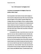 religious studies bgcse coursework