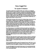 Essay on guru arjan dev ji in punjabi language